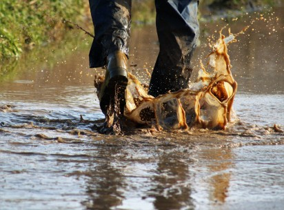 Bring your wellies!