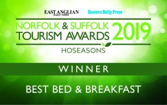 Winner of 2019 Best Bed and Breakfast