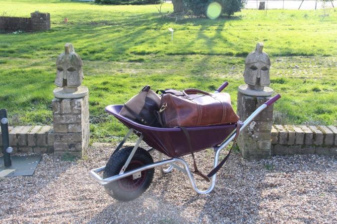 Wheelbarrow For Guest Use