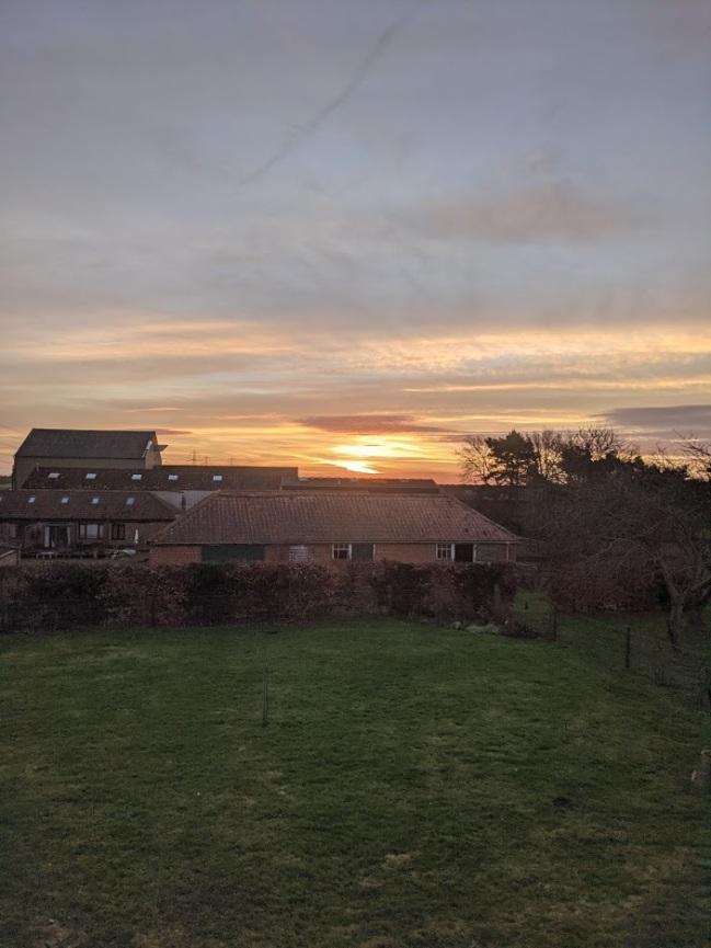 Famous Suffolk big sky