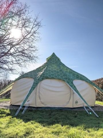 Jazzy Tent cover