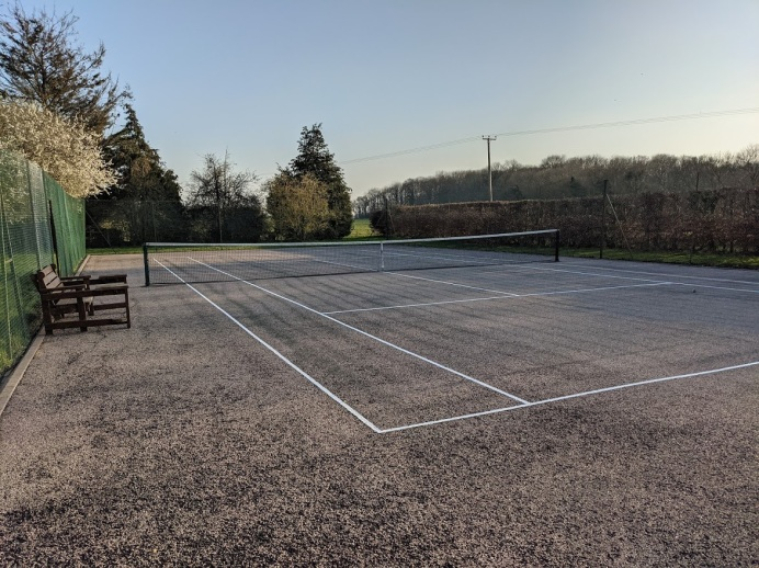 Use of The Tennis Court