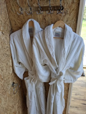 Bathrobes Provided for Adults