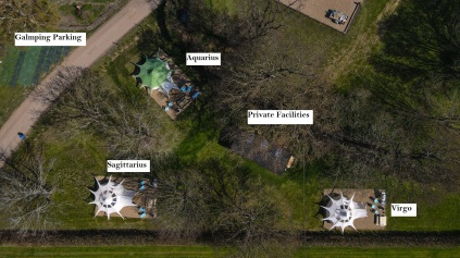 Glamping Field Layout